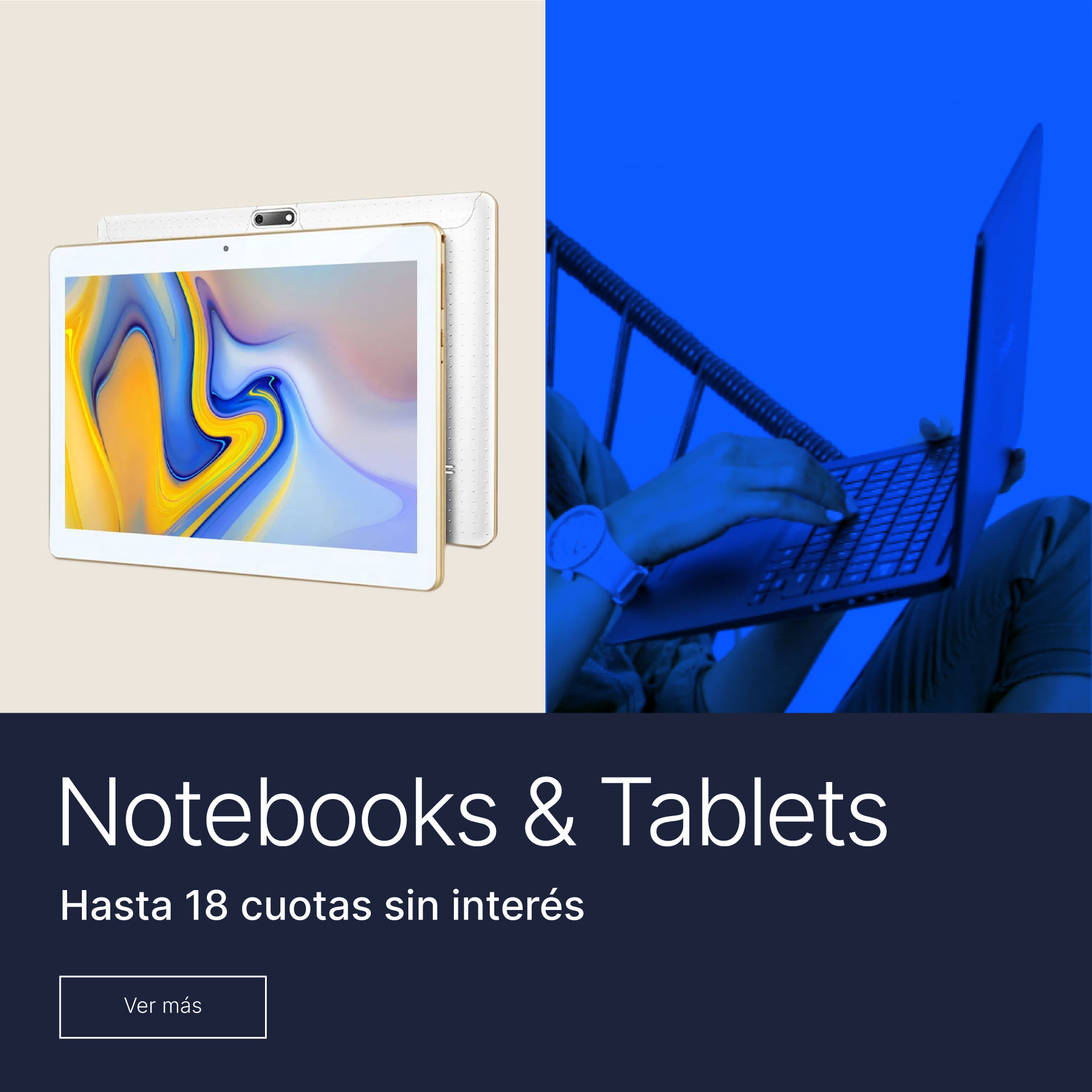 Notebooks y Tablets!
