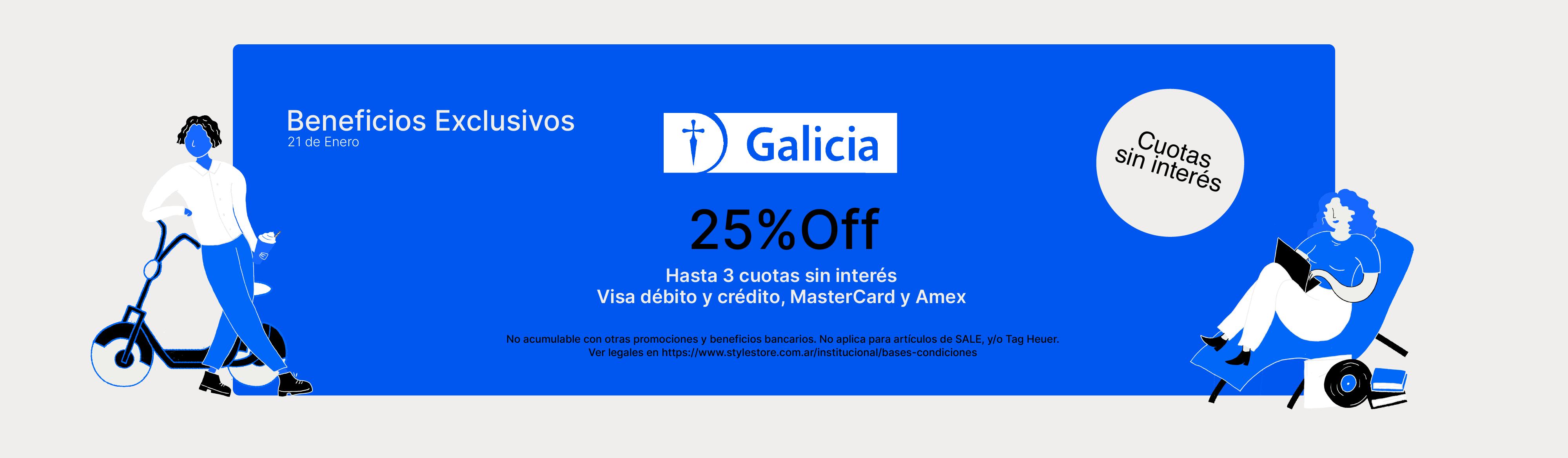 Beneficios bancarios en Style Store. Galicia
